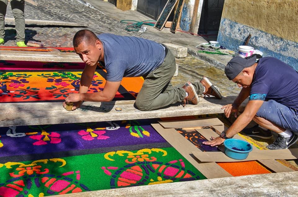 Carpet - Antigua Guatemala